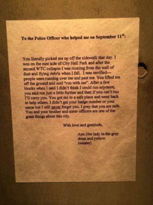 9-11 Letter