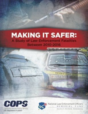 NLEOMF report shows trends in law enforcement fatalities.