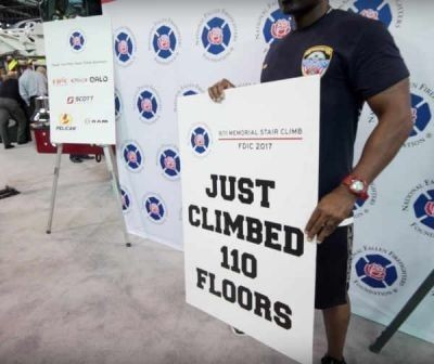 Are you participating in a 9/11 Memorial Stair Climb?